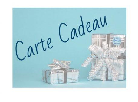 Cartes Cadeaux Bleu Souris proposées par tranche de 20€